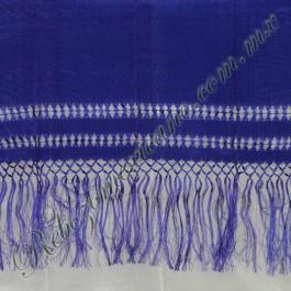chalina artesanal C1 Azul Rey