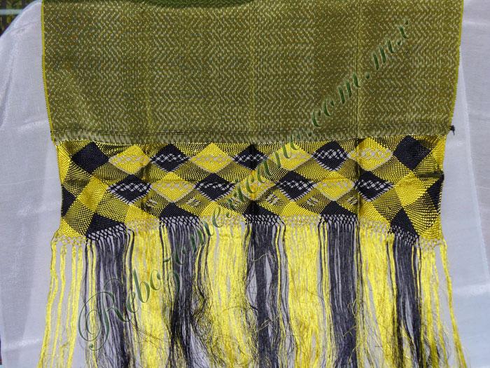 Rebozo R3 amarillo canario