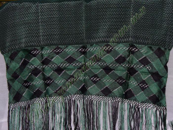 Rebozo R4 verde bandera