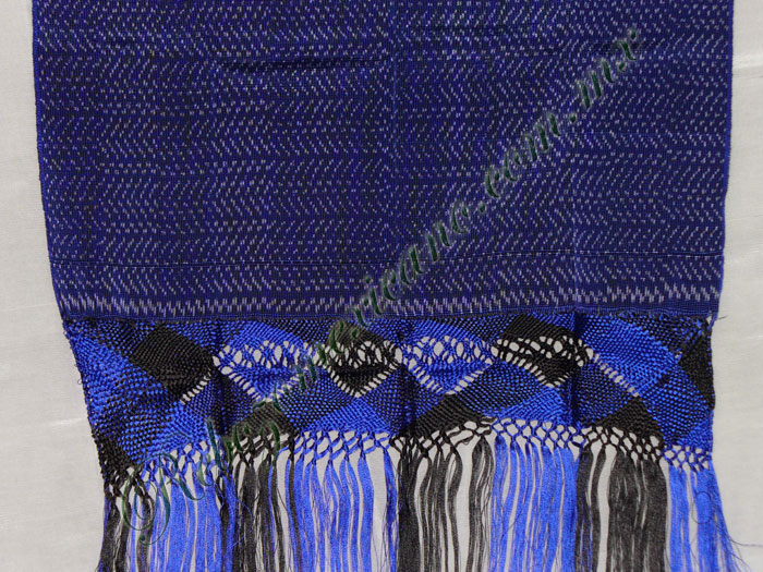 Rebozo R1 azul rey