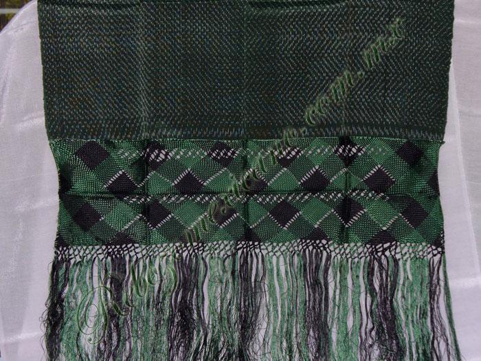 Rebozo R3 verde bandera