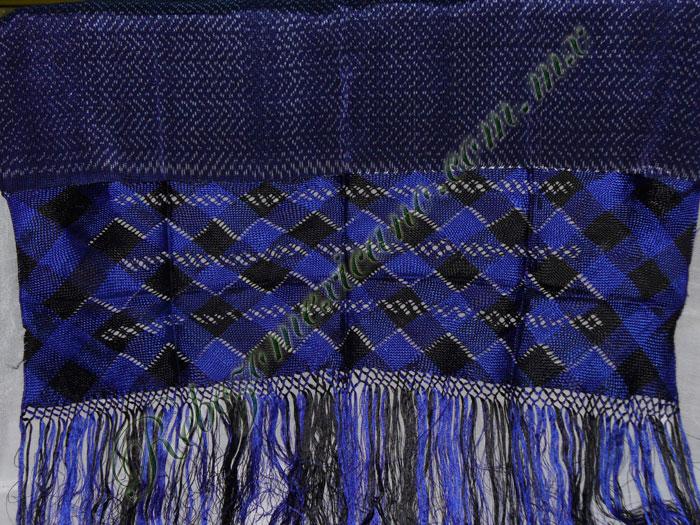 Rebozo R4 azul rey